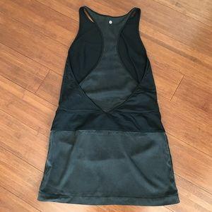 Lily lemon Black & Gray Dress